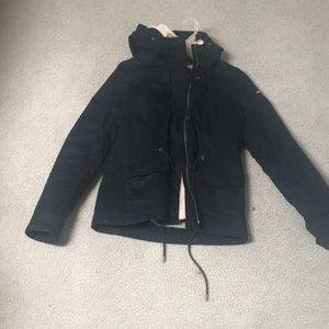 Abercrombie & Fitch Sherpa lined parka